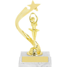 "Dance Trophy - 8"" Ballerina Rising Star Trophy"