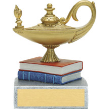 "4 1/4"" Lamp of Learning Award"