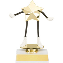 "DINN DEAL! 5 1/2"" Flexible ""SuperStar"" Trophy"