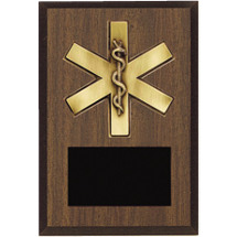 "8 x 10"" First Responder Plaque"