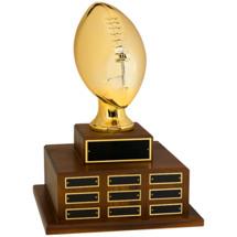 "18"" Official Size Football Perpetual Award"