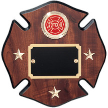 Star of Life Fire Department Plaque