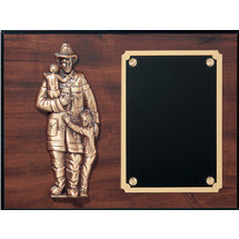 "Fire Department ""Protect the Children"" Plaque"