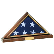 "15 x 10"" Memorial 4' x 8' Flag Holder w/Base"