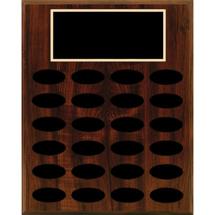 """9 x 11"""" Perpetual Plaque - 12 Nameplates"""