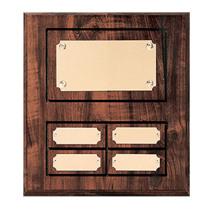 """8 x 10"""" Classic Perpetual Plaque - 4 Nameplates"""
