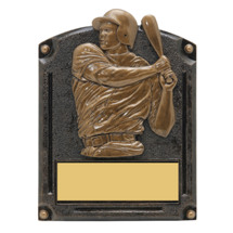 "Baseball Trophy - Male - 5 x 6 1/2"" 3D Shadow Award"