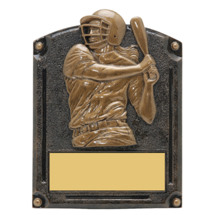 "Softball Trophy - Female - 5 x 6 1/2"" 3D Shadow Award"