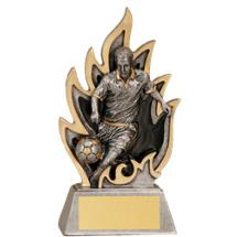 "Soccer Ignite Resin Trophy - Male - 5 1/2"""