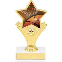 Basketball Super Star Trophy - 7""
