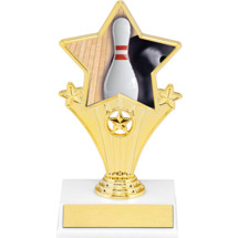 Bowling Super Star Trophy - 7""