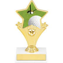 Golf Super Star Trophy - 7""