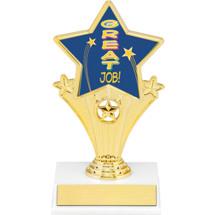 """Great Job Super Star Trophy - 7"""""""