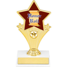 """Honor Roll Super Star Trophy - 7"""""""