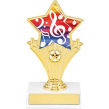 "Music Super Star Trophy - 7"""