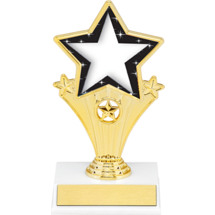 Star Super Star Trophy - 7""