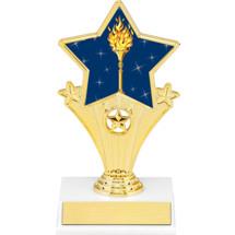 "Victory Resin Super Star Trophy - 7"""