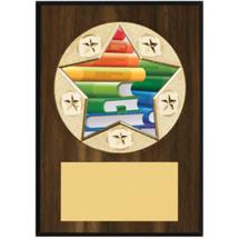 """Education Plaque - 5 x 7"""" Star Emblem Plaque"""