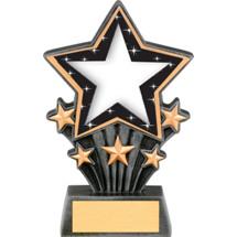 "Star Resin Super Star Trophy - 6 1/2"""