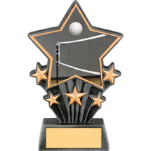 Volleyball Resin super Star Trophy - 6 1/2""