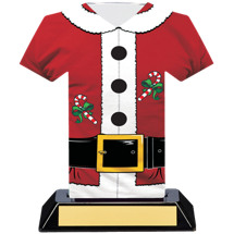 Santa Suit Christmas Trophy