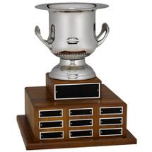 "13 x 16"" Silver Wine Cooler Perpetual Award"