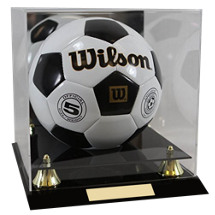 "Soccer Case - 12 x 12 x 12"" Soccer Display Case"