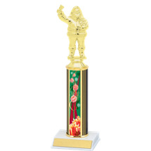 Green/Red Holiday Ornaments Trophy