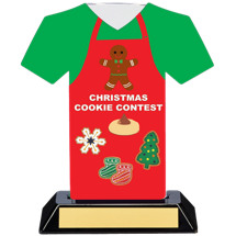 Christmas Cookie Contest Trophy - 7 inches