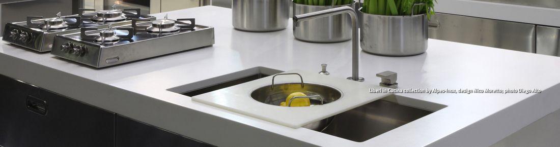 Corian kitchen worktops dupont dupont india - Revetement plan de travail cuisine ...