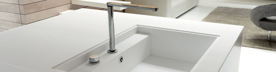 Corian Kitchen Sinks : With Corian?, designers can create kitchen sinks in a wide variety