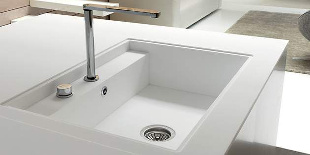 Kitchen sinks corian dupont united kingdom for Piani cucina in corian