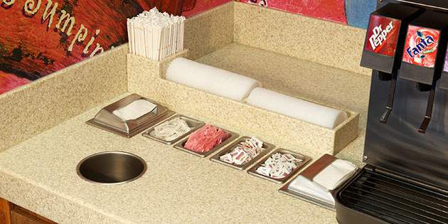 Low Maintenance Countertops At Popeyeu0027s Restaurants | DuPont USA