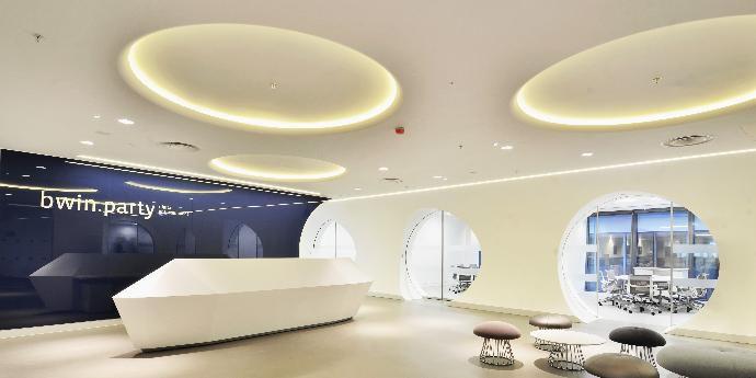 hq office wall cladding dupont corian dupont united kingdom. Black Bedroom Furniture Sets. Home Design Ideas