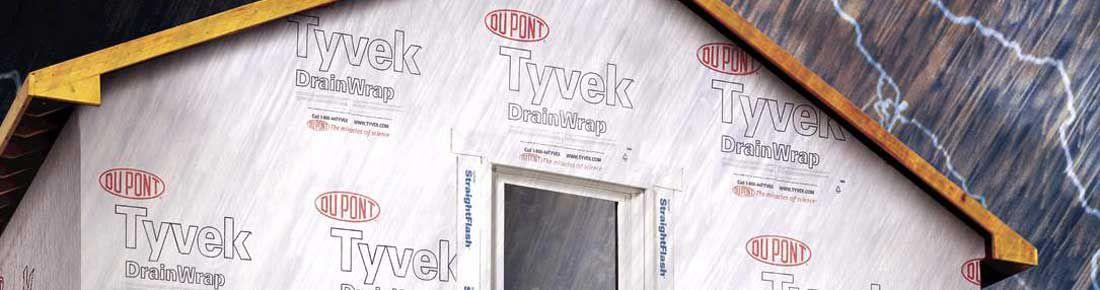Moisture Barrier Dupont Tyvek 174 Drainwrap Dupont Usa