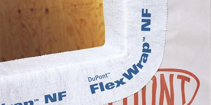 Self Adhered Flashing Dupont Flexwrap Nf Dupont Usa