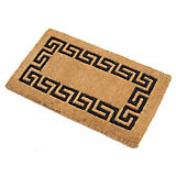 Norman Librett Greek Key Imerial Cocoa Mat