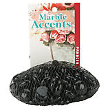 Panacea Black Glass Pebbles