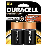 Duracell D Batteries (2 Pack)