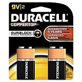 Duracell 9-Volt Alkaline Battery (2 Pack)