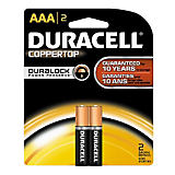 Duracell AAA Batteries (2 Pack)