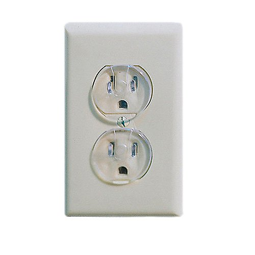 Ultra Clear Outlet Plugs, 12 Pack