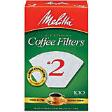 Melitta No. 2 White Filter Paper, 100 Ct.