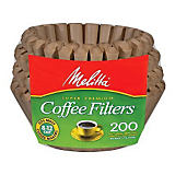Melitta Brown Basket Filter, 100 Ct.