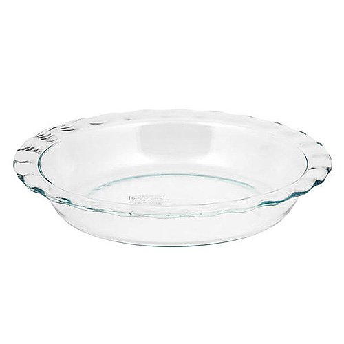 Pyrex Glass Handled Pie Dish
