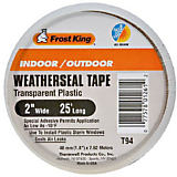 Frost King Weather Seal Transparent Plastic Tape