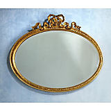 Carvers Guild Bow Oval Horizontal Mirror