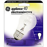 GE 40W A15/E26 Incandescent Appliance Bulb Frosted