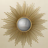 Global Views Sunburst Mirror