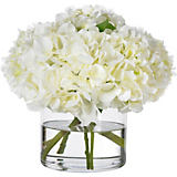 Diane James White Hydrangea Arrangement